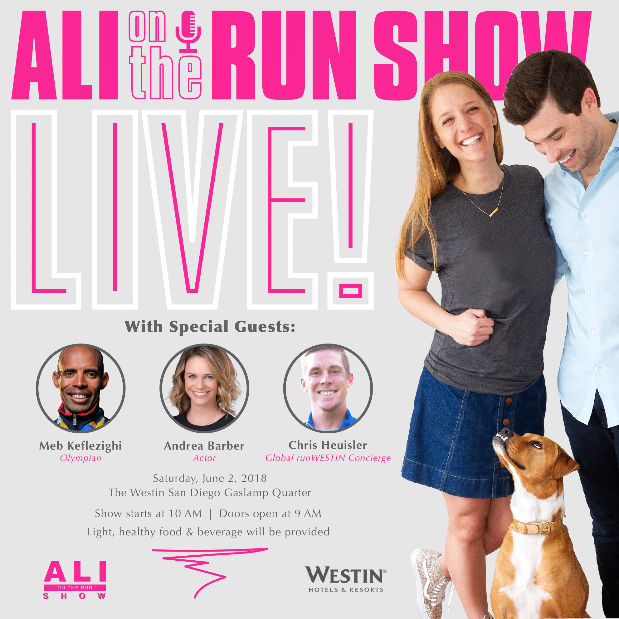 Ali on the Run Show: LIVE!