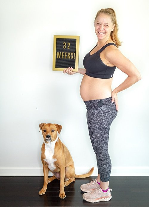 Baby on the Run: Week 32